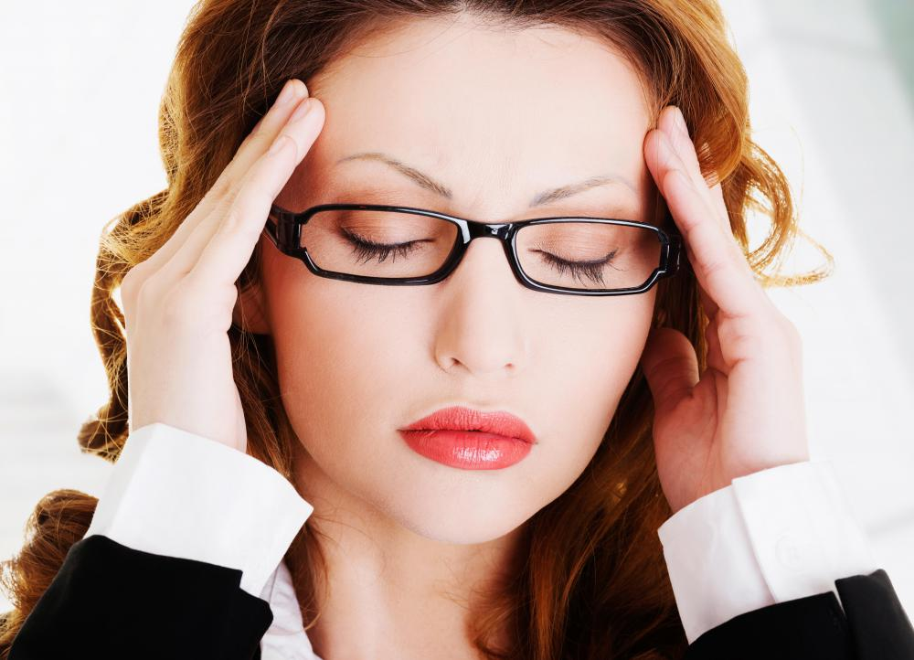 Vascular headaches are caused by blood vessels swelling in the head.