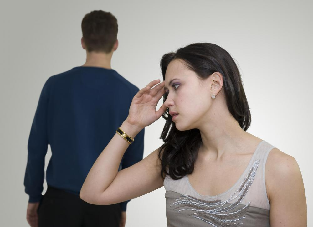 Chronic stress can occur as the result of feeling trapped in an unhappy marriage.