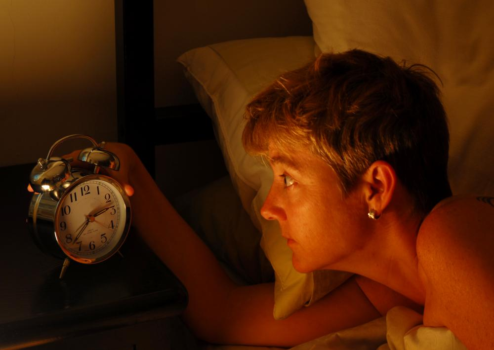 Anxiety can contribute to chronic sleep disorders.