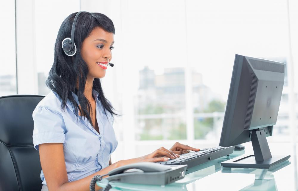 E-business services usually provide online customer support.