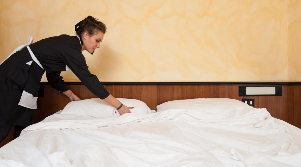 Undocumented immigrants often perform housekeeping tasks in hotels.