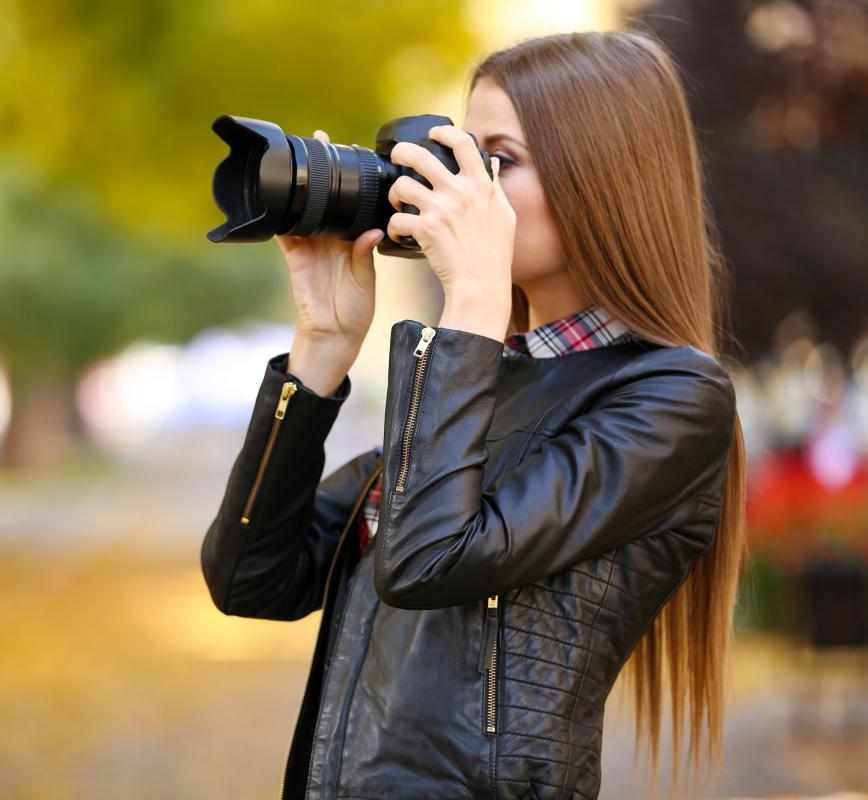 Magazines and newspapers may hire freelance photographers who are still in training.