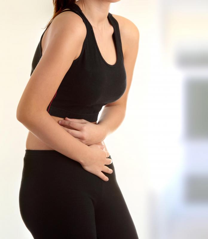 Stomach pain is a common symptom of a peptic ulcer.