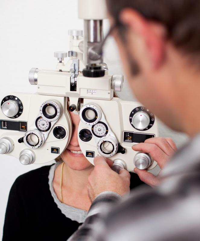 People suffering from a basilar skull fracture may experience vision changes.