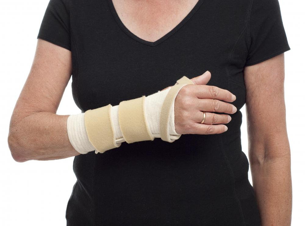 Electromyography may be used to diagnose carpal tunnel syndrome and other repetitive stress injuries.