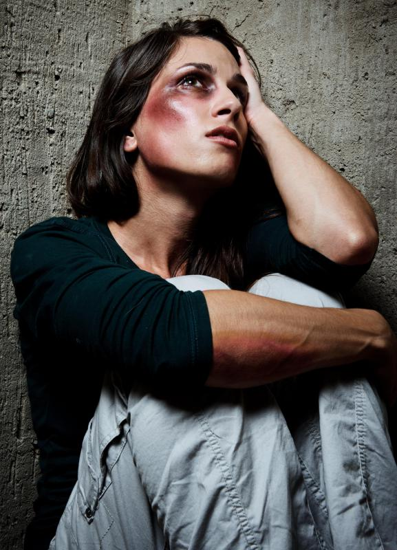 A victim of physical abuse in their relationship often suffers from a lowered self-esteem.