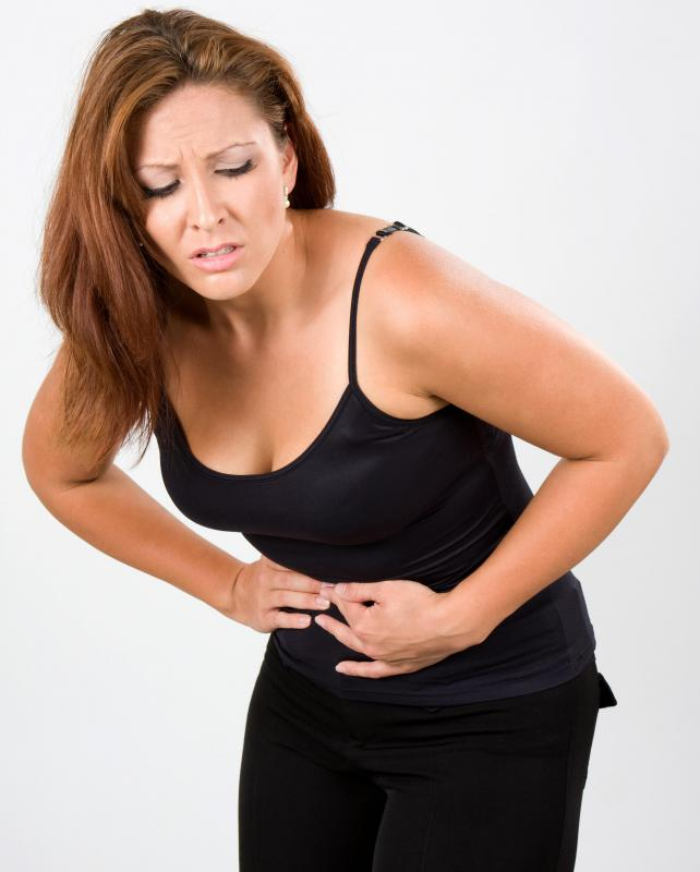 Food contaminated with bacillus cereus can cause abdominal cramps.