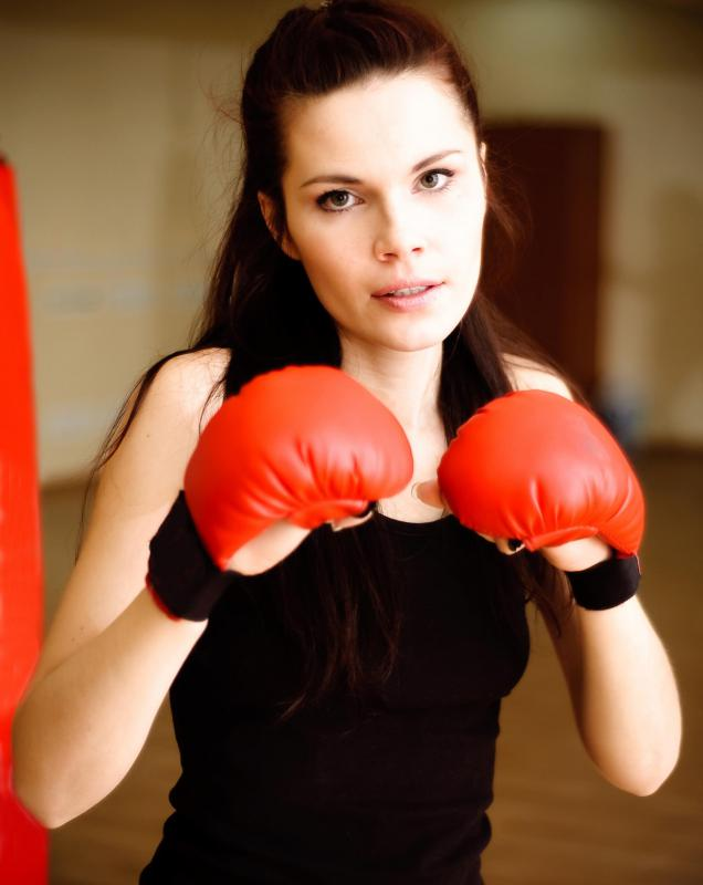 Boxing can provide a full body workout.
