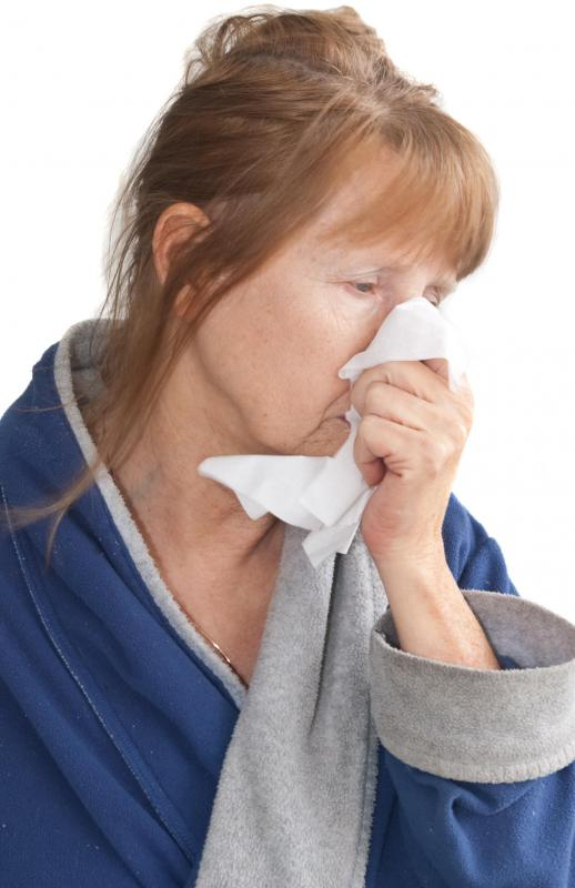 A cold is considered to be an acute condition.