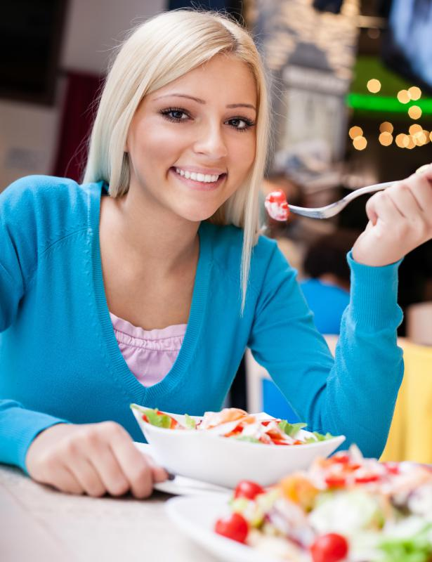A dietary aid can help a person develop healthier eating habits.