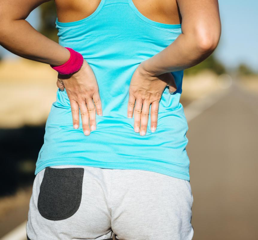 Back pain may develop as a result of AVM.