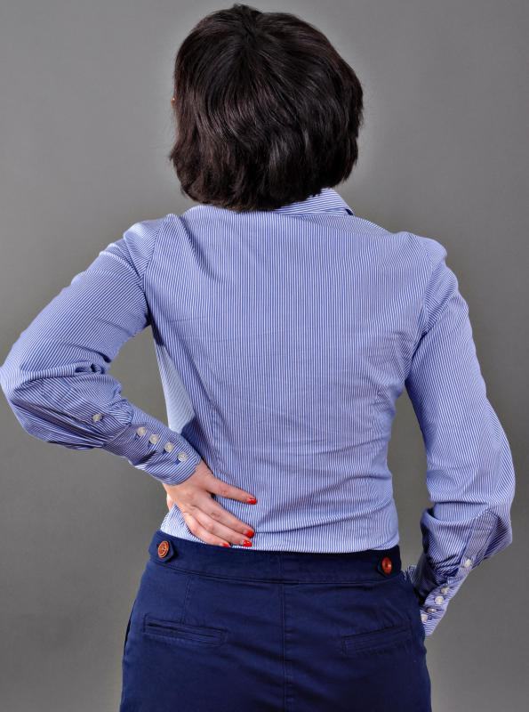 Side effects of an epidural may include back pain.