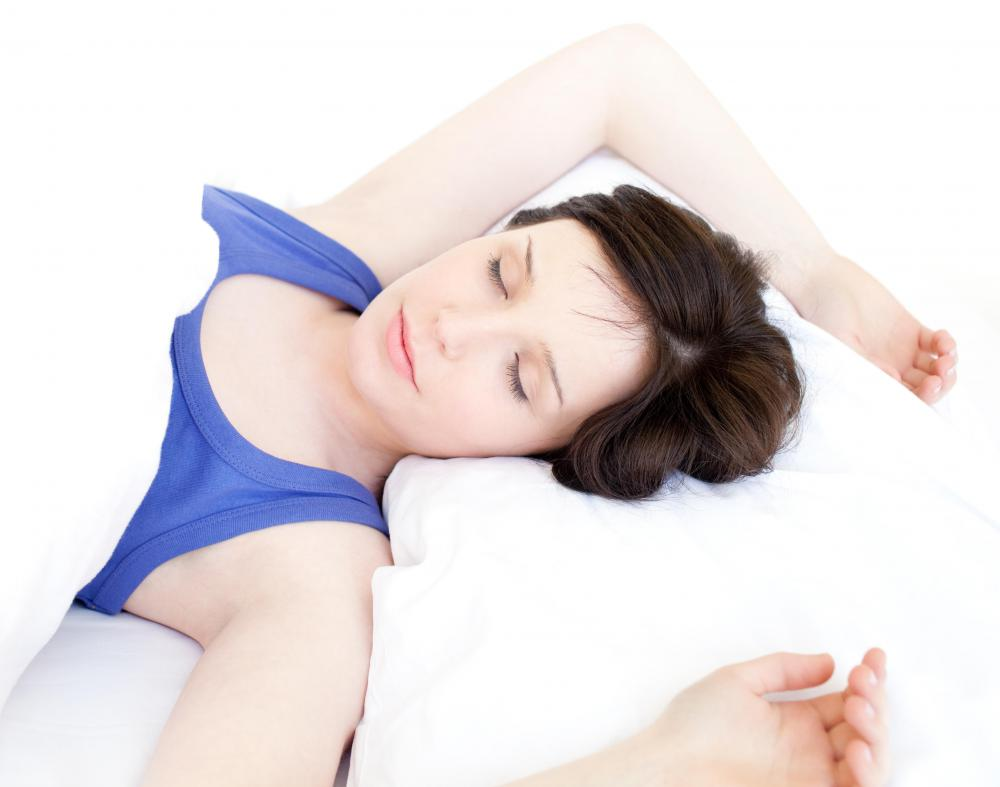 Some people find that a body pillow helps cradle the body and encourages good posture.
