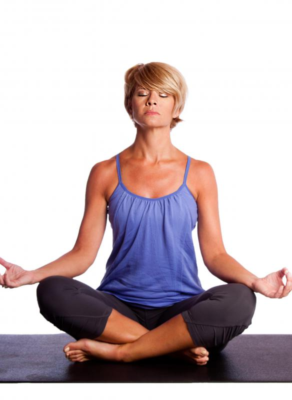 Guided meditation may help individuals achieve peacefulness.
