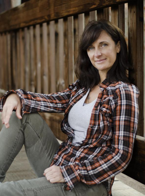 Flannel shirts are often worn in casual settings.