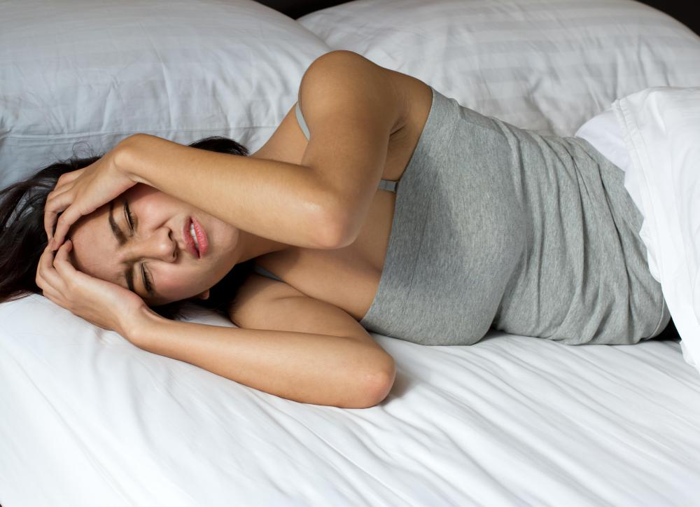 A person may wake up in the morning with a severe headache following a night seizure.