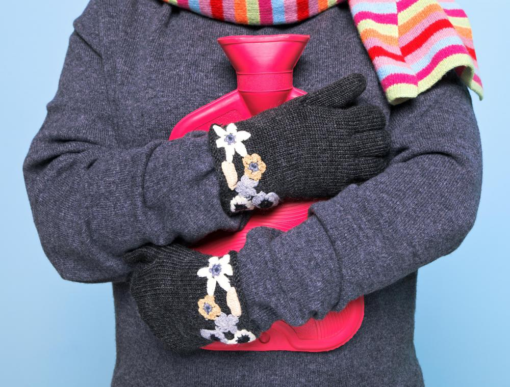 Thin fleece gloves can be worn under traditional wool gloves for added warmth.