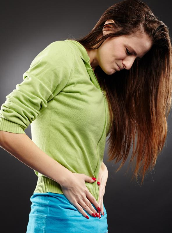 There are generally no symptoms of abdominal adhesions unless something is wrong inside the body.