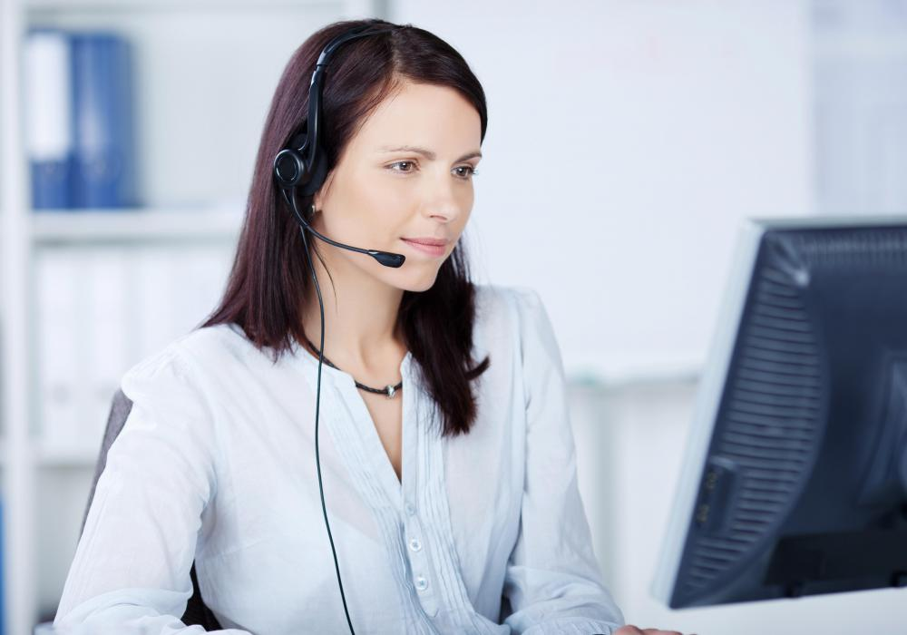 Hosted call centers handle large numbers of calls for different companies.