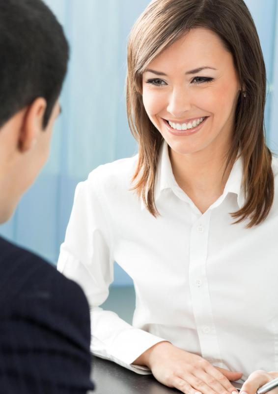 Being able to converse casually may be important when interviewing for a job.