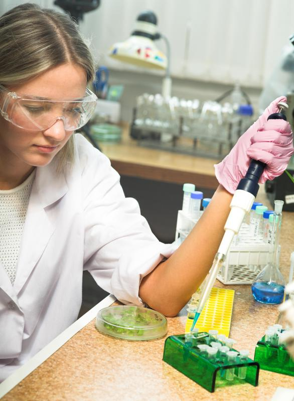 An aspiring research technician should gain as much lab experience as possible during college.