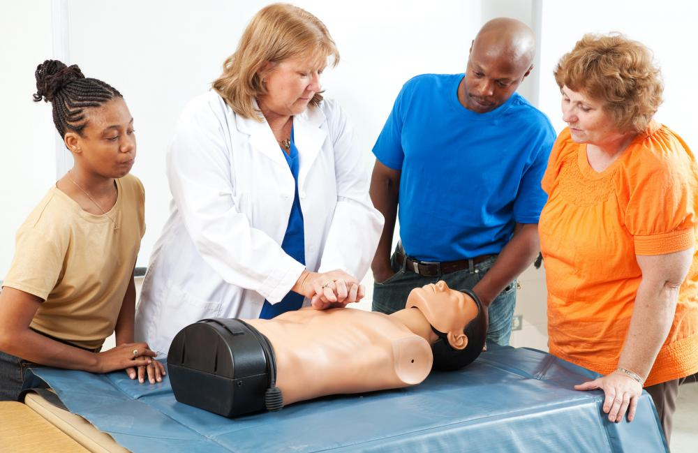 Those who lack training could cause harm if they attempt to administer CPR.