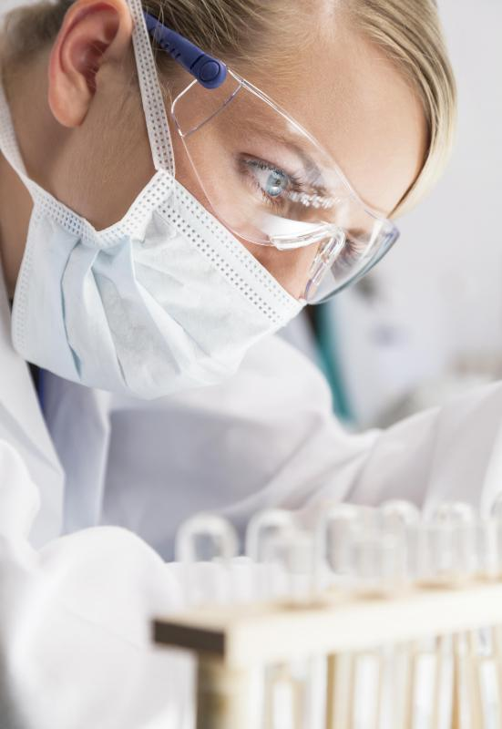 Forensic scientists may specialize in biology, chemistry, DNA, toxicology, or many other fields.