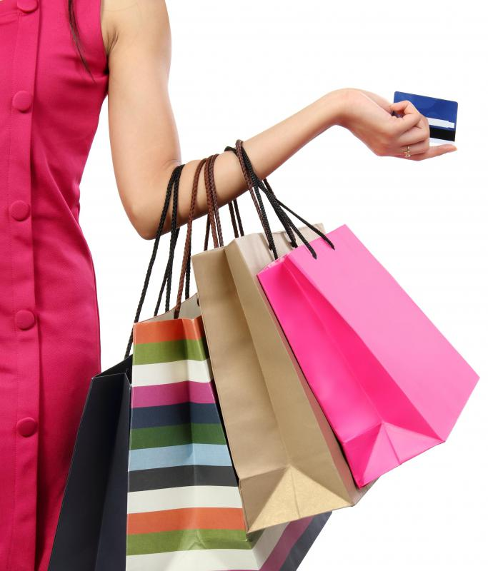 A debit card, a type of cash card, can be a convenient way to access funds while shopping.