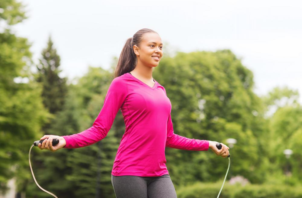 Jumping rope can be a fun way to improve cardiovascular health.