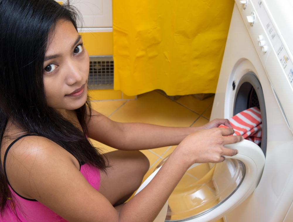 Front-loading washing machines are more energy efficient.