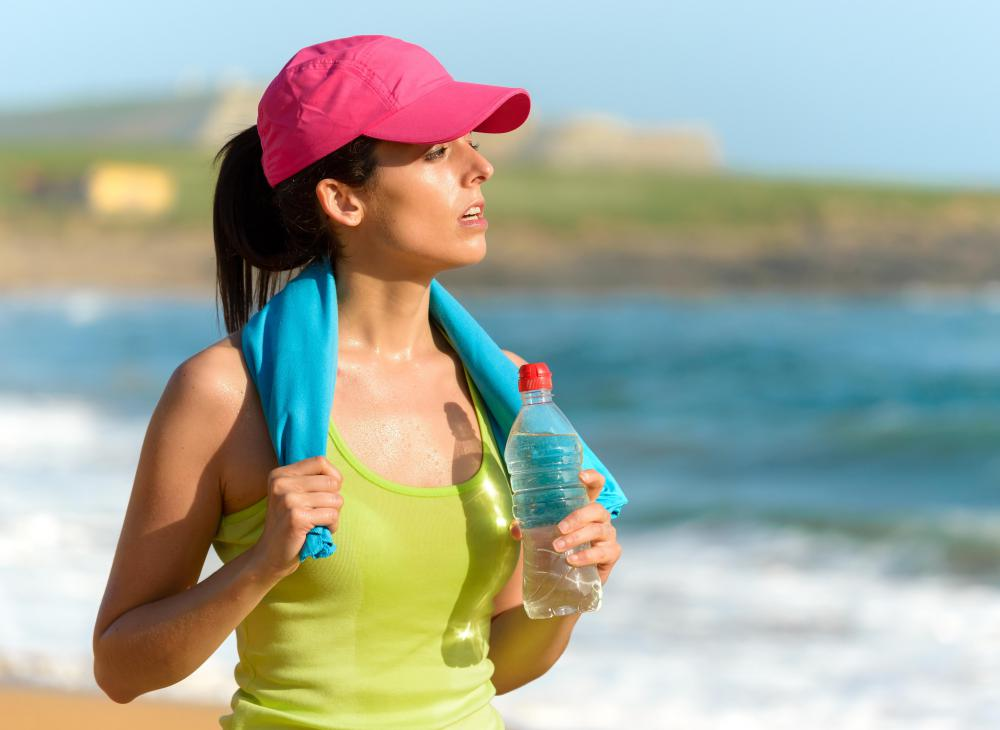 A cap can help protect against UV rays.
