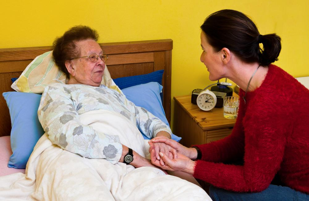 In many cases, loved ones provide custodial care for ailing family members.