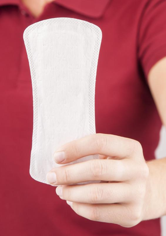 Sanitary pad can help manage the bleeding that may occur after a punch biopsy.