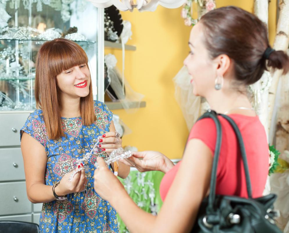 Some costume jewelry brands are carried by exclusive boutiques.
