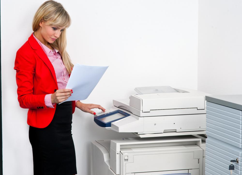 Businesses often rely on copy machines with automatic document feeders.