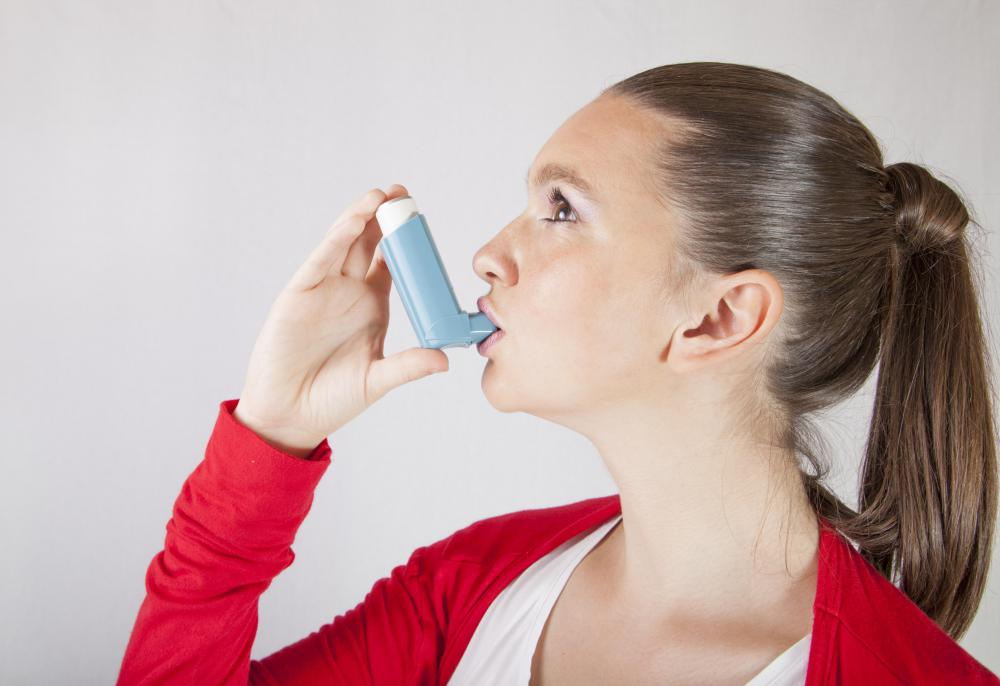 Asthma inhalers are not as effective in treating a severe attack as prednisone.