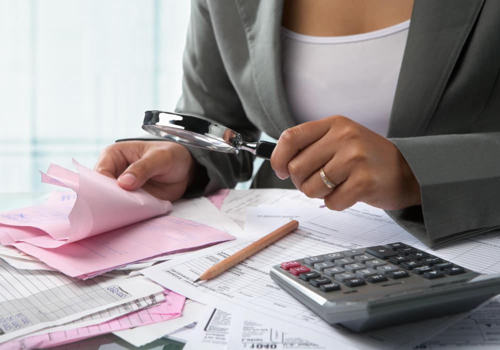 In the financial sense, a corporate audit involves detailed inspection of financial accounts and practices.