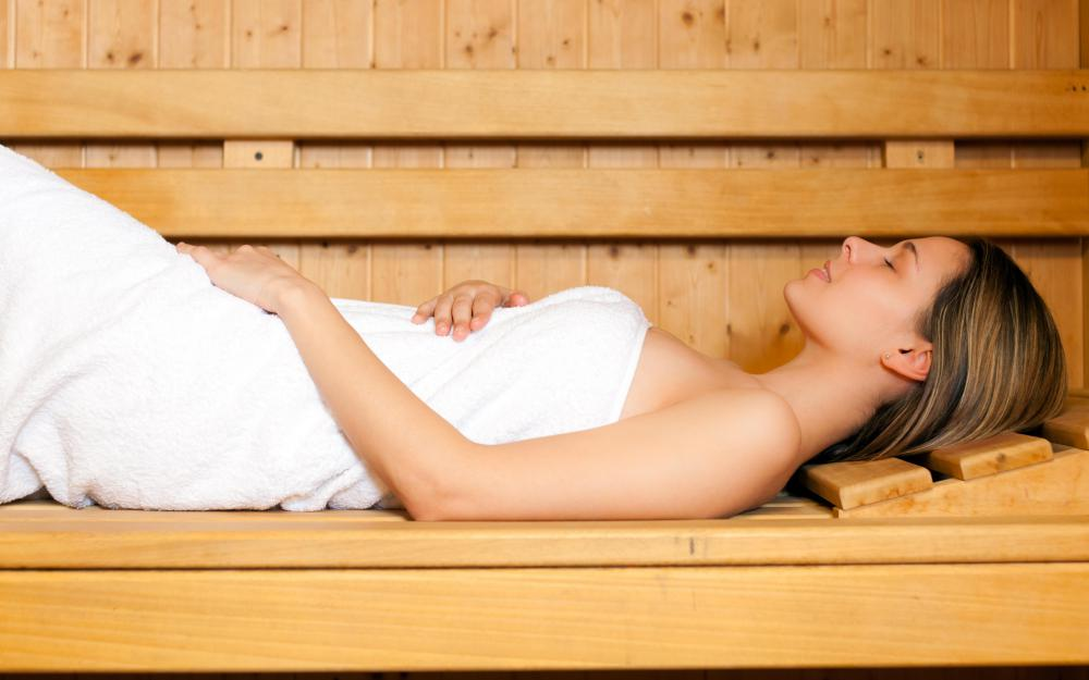Some saunas are designed for a single person while others can accommodate a larger group.