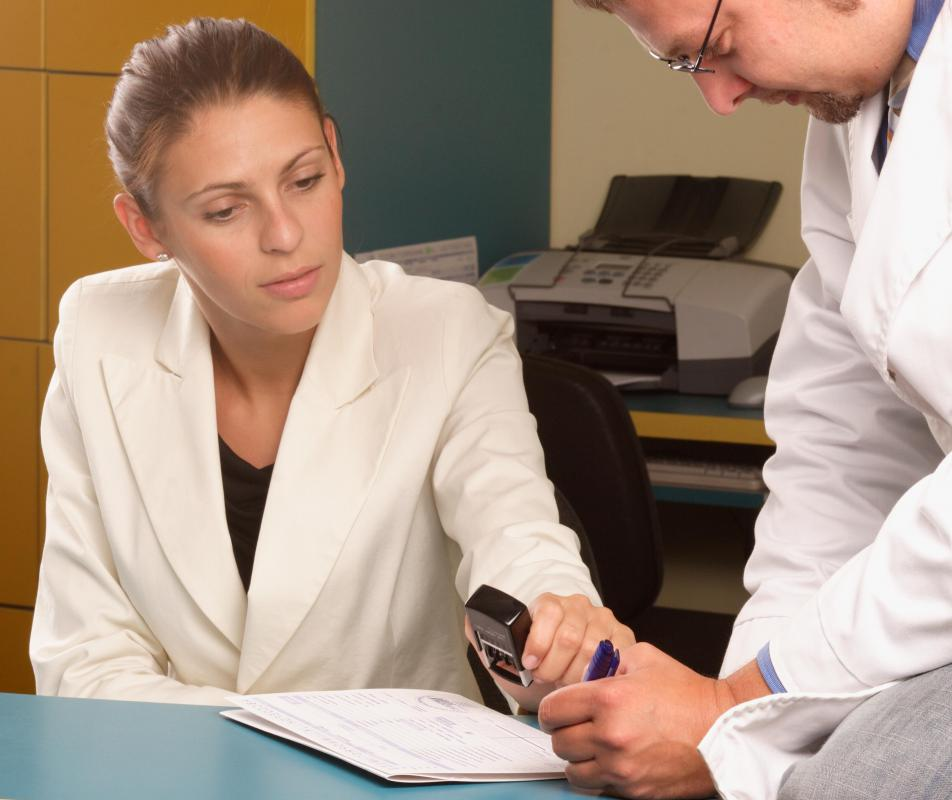 Health care advisors often have experience dealing face-to-face with medical professionals.