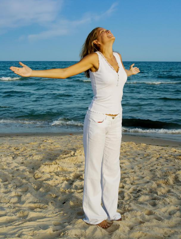 Kundalini yoga is said to bring about inner peace and self-confidence.