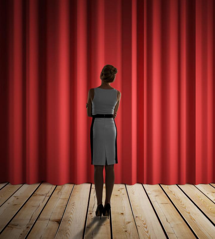 Actors who experience stage fright might have a greater sense of accomplishment after a performance.