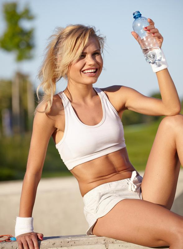 Individuals engaging in any type of workout should be sure to remain hydrated at all times.