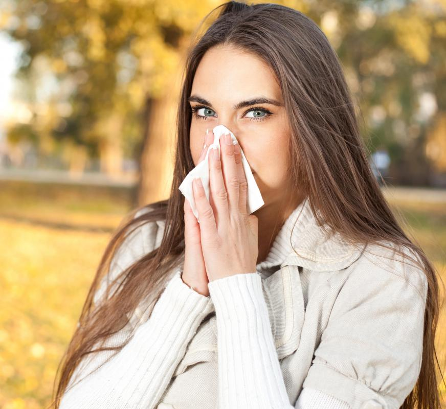 It's unlikely for a person to catch the same cold or flu virus strain twice.