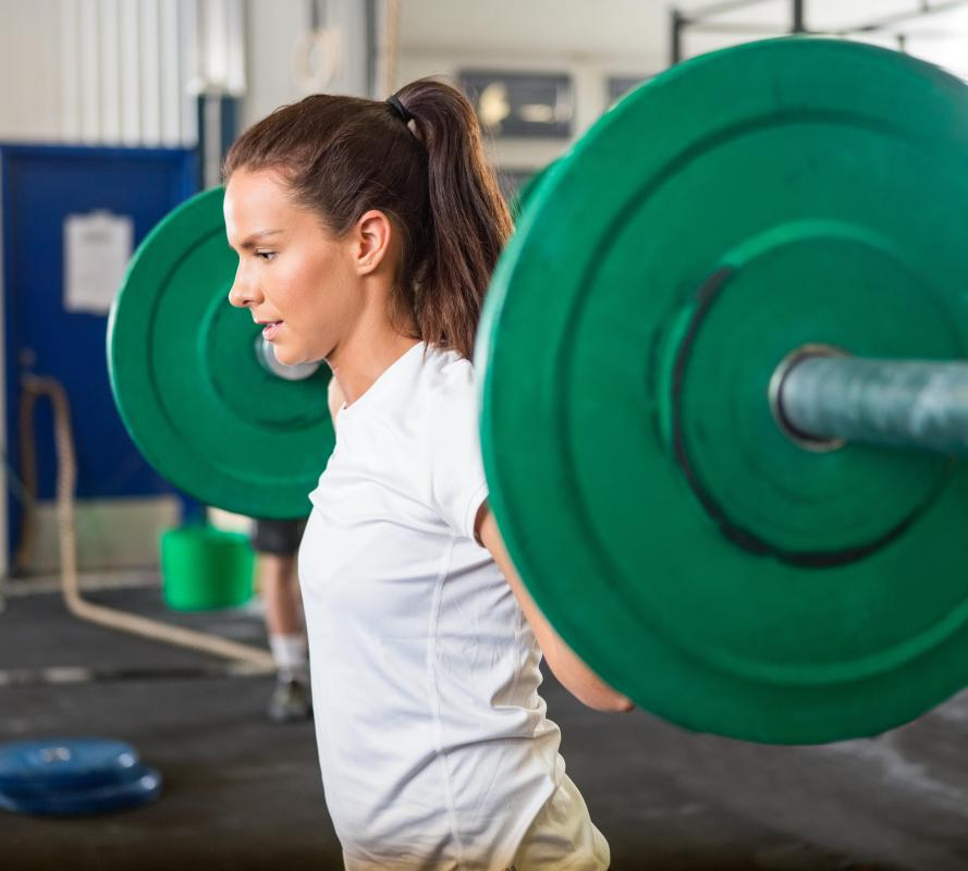 Competitive female athletes may have no or irregular periods during times of intense training.