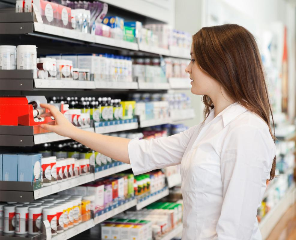 Pharmacists need to be familiar with possible side effects of medications to answer customer questions.