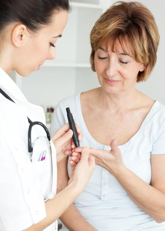 Physicians recommend regular diabetes screenings for people over the age of 45.