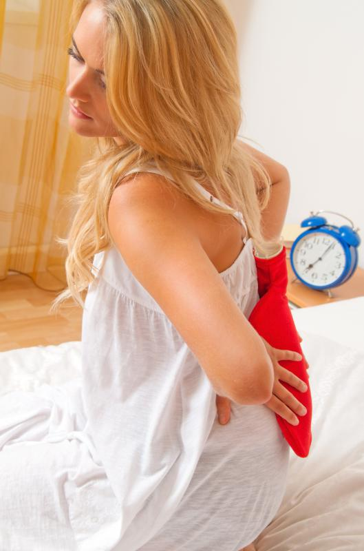 Some people with polymyalgia rheumatica experience pain when they first wake up in the morning.