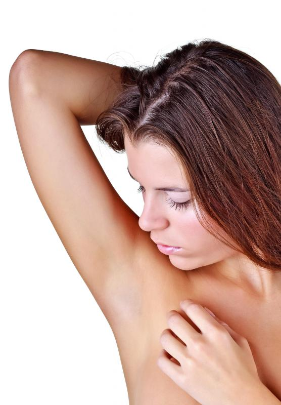 The fungus that causes yeast infections likes moist, dark areas like armpits.