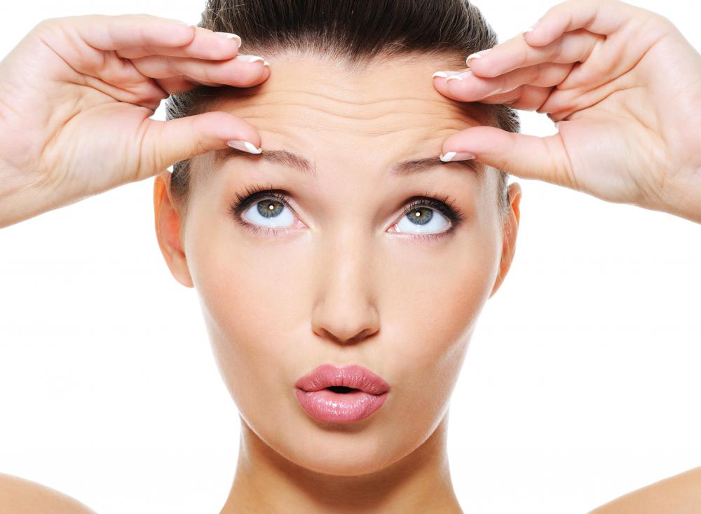 Juvaderm and Restylane are not usually used on forehead wrinkles.