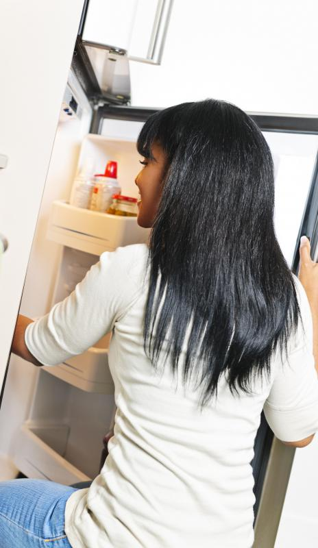 Storing stockings in a refrigerator and applying clear nail polish may help stop runs in stockings.